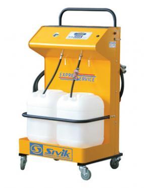 Установка для замены охлаждающей жидкости КС-121